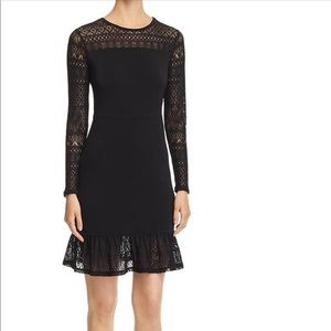 MICHAEL Michael Kors Women's Lace Trim Dress